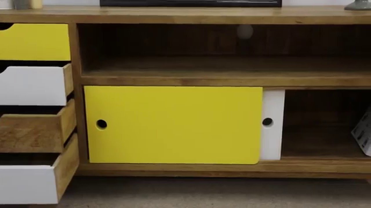 Meuble tv design scandinave youtube - Commode design scandinave ...