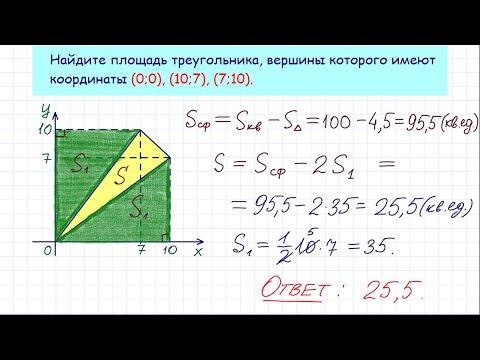 Задание 3 ЕГЭ по математике. Урок 26