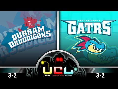 Pokémon ORAS LIVE Wi-Fi Battle [UCL S1W6] Durham Druddigons VS Philadelphia Gatrs