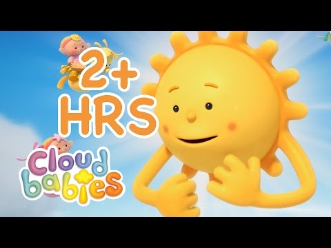 Cloudbabies for Kids | Sun, Stars & Moon | 2 hours of Cartoons