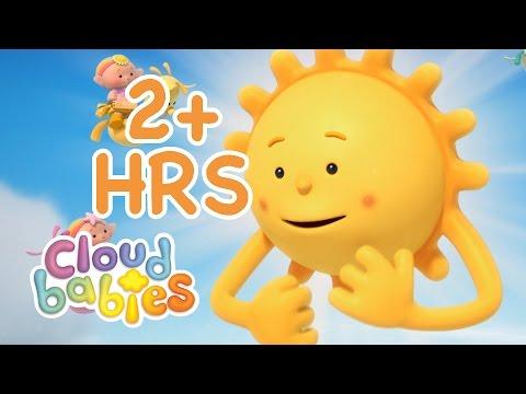 Cloudbabies for Kids   Sun, Stars & Moon   2 hours of Cartoons