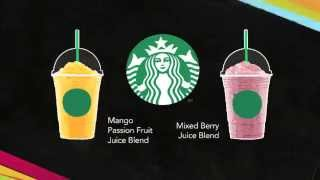 Starbucks Juice Blends | مزيج عصير ستاربكس
