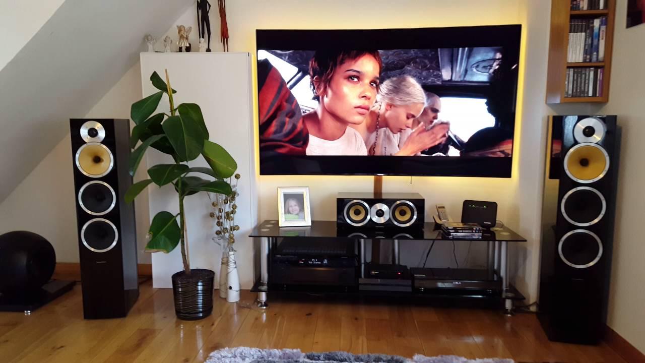 samsung ue65ks9000 4k tv panasonic ub 900 b w home cinema mad max fury road ultra hd youtube. Black Bedroom Furniture Sets. Home Design Ideas
