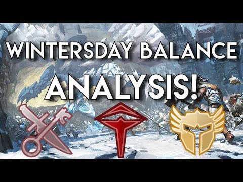 Wintersday Balance Patch Analysis : Thief, Revenant And Warrior! thumbnail
