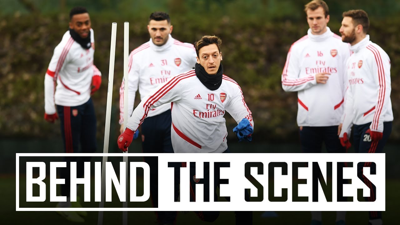 Behind the scenes at Arsenal training centre | Jan 14, 2020