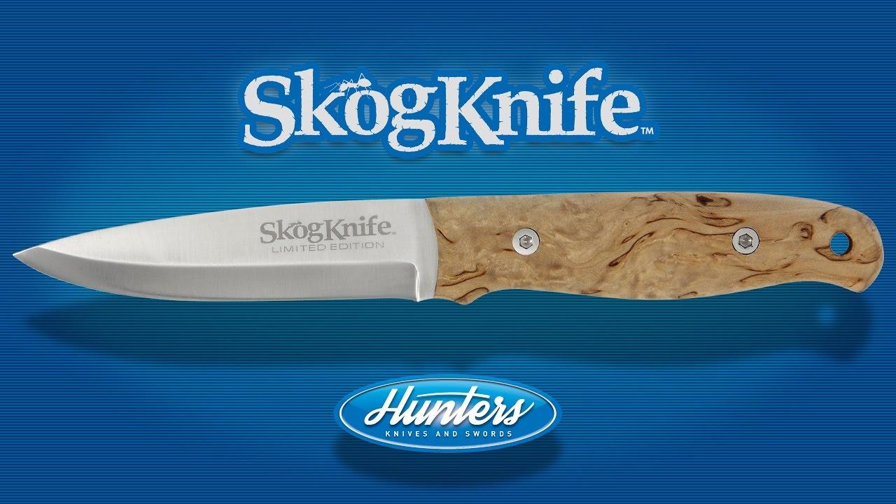 Skogknife Curly Birch Bushcraft Knife - YouTube