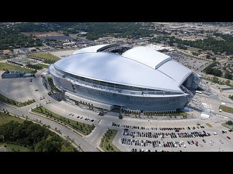 Opening Of The Roof New Dallas Cowboys Stadium First