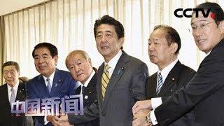 [中国新闻] 日本自民党四大要职确定   CCTV中文国际