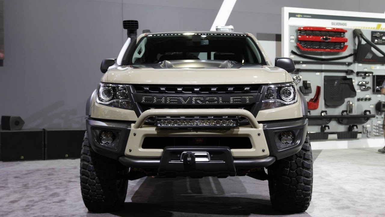 2018 CHEVROLET COLORADO ZR2 CONCEPTS, at SEMA Show - YouTube