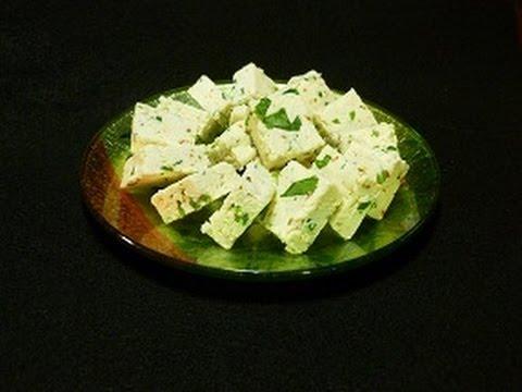 Homemade Panir and Masala Paneer (Indian Cheese) Recipe - YouTube