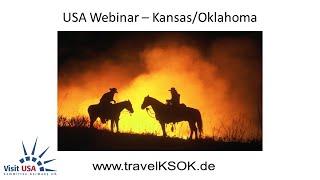 USA-Webinar: Kansas/Oklahoma Travel & Tourism am 15.04.2020