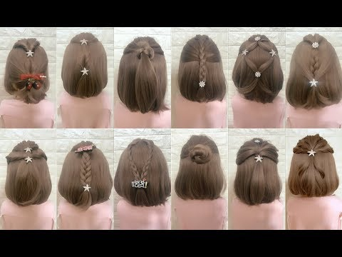 Top 30 Amazing Hairstyles For Short Hair Best Hairstyles For Girls Part 4 Youtube