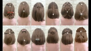 Top 30 Amazing Hairstyles for Short Hair 🌺 Best Hairstyles for Girls  ❤️Part 4