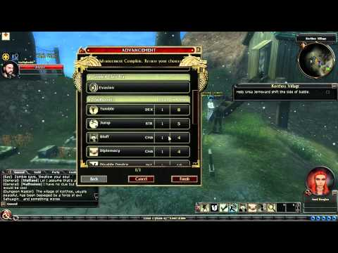 Dungeons & Dragons Online: Gameplay - Level Up And Action Points