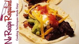 Steak Tacos - Noreciperequired.com