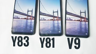 Y81 vs Y83 vs V9 | speed test |comparasion |
