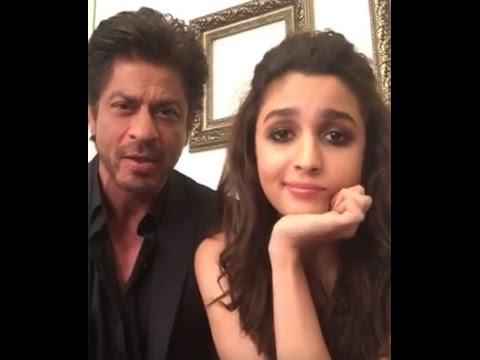 Shahrukh khan, Alia Bhatt funny Live chat -  Dear zindagi