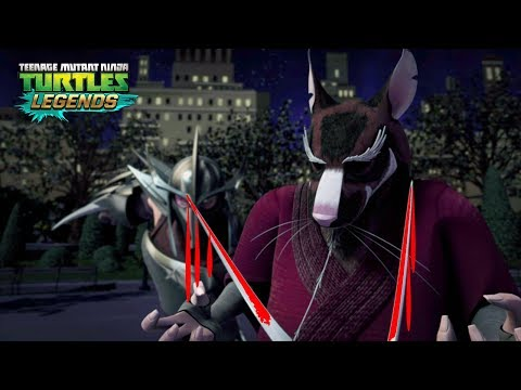 How Shredder Killed Splinter - Teenage Mutant Ninja Turtles Legends
