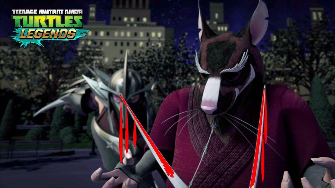 How Shredder Killed Splinter Teenage Mutant Ninja Turtles Legends Youtube
