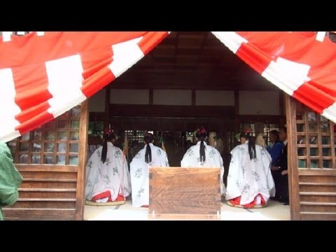 Autumn Shinto Ceremony in Japan