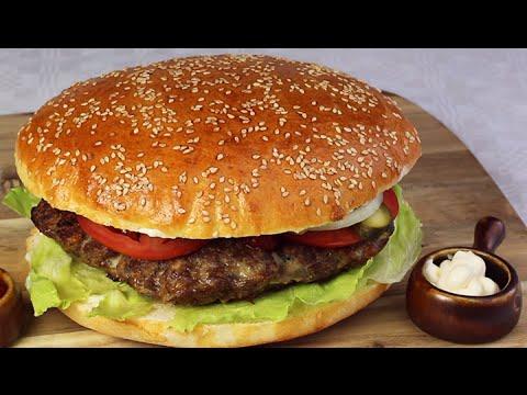 xxl hamburger fast food youtube. Black Bedroom Furniture Sets. Home Design Ideas
