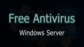 видео Бесплатный Антивирус Windows 2003 Server