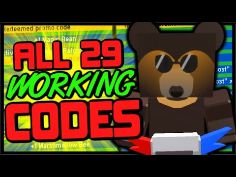 All 29 Working Codes In Bee Swarm Simulator Free Items