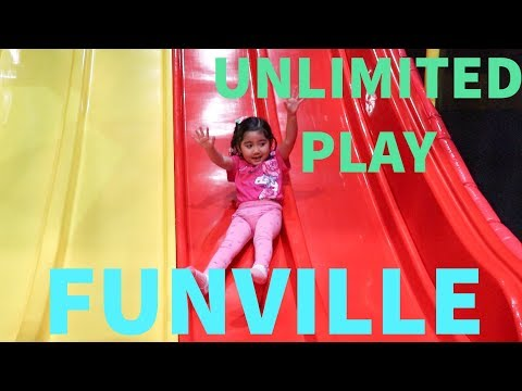 INDOOR PLAYGROUND UNLIMITED FUN PLAYTIME | FUNVILLE