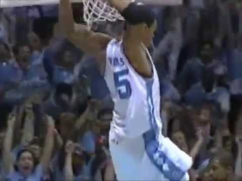 """UNC Tar Heels - """"Curry to Peppers!"""" Dunk"""