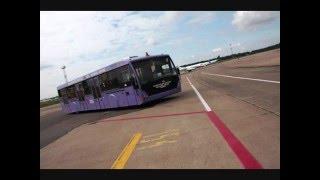 МАЗ-171. АВТОБУС В НЕБО. Минский автобус для аэропортов(МАЗ-171 – уникальная разработка! Это аэродромный, или, как его еще называют, перронный автобус. В мире таких,..., 2016-05-03T07:26:58.000Z)