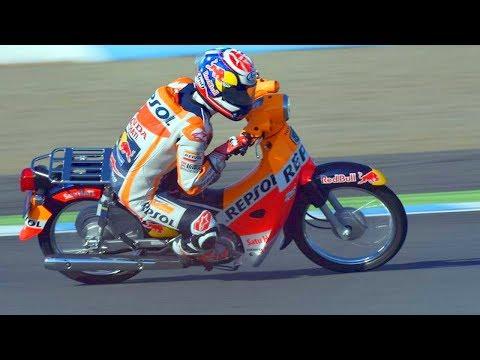 Haha!! FUNNIEST RACE of Marc Marquez vs Dani Pedrosa of MotoGP