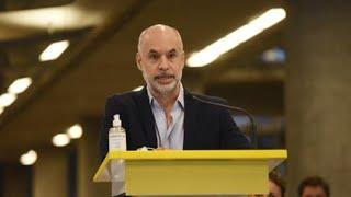 🔴 EN VIVO | Horacio Rodríguez Larreta, tras el fallo que garantizó las clases presenciales