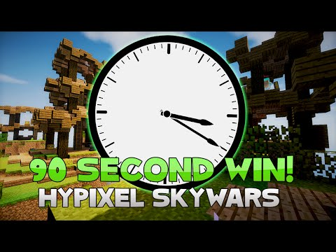 WINNING IN 90 SECONDS + PLAYING WITH VIEWERS! [LIVE] ( Hypixel Skywars )