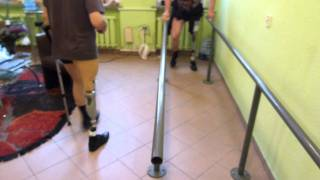 Repeat youtube video Proteza nogi 2 X KOLANO RHEO  przymiarki jedyne takie w Polsce!!!ORTO-ACTIV Zielona Góra LUBUSKIE