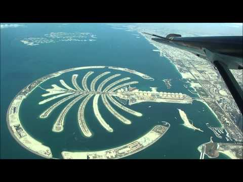 A Flight over Dubai