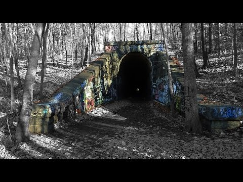 Abandoned Train Tunnel - Clinton, MA
