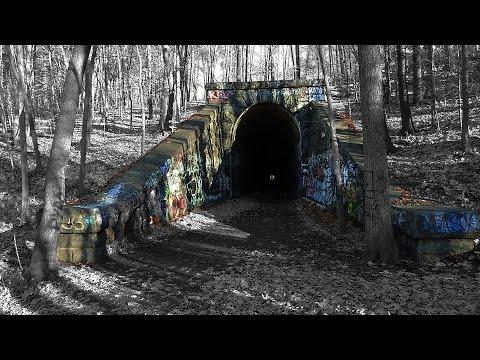 Abandoned Train Tunnel - Clinton, MA