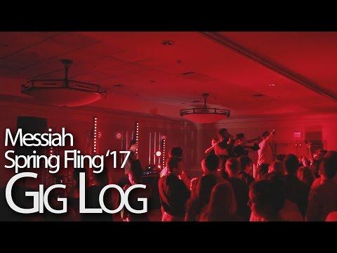 Messiah College Spring Fling 2017 Production Gig Log