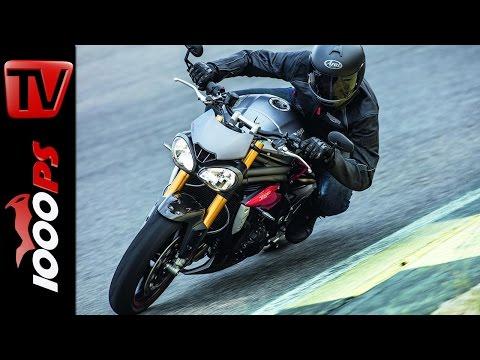 Triumph Speed Triple R 2016 | Motor,  Elektronik, Farben, Preis