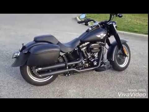 Harley Davidson Fatboy Modifications