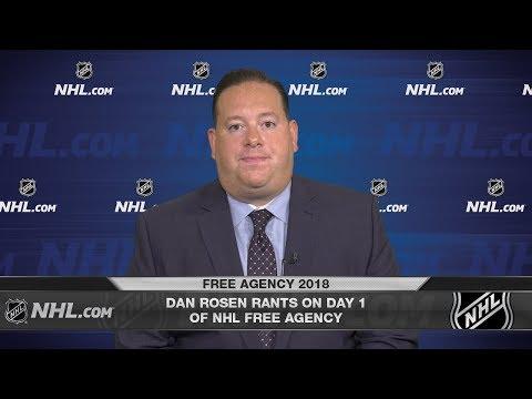 Dan Rosen rants on Day 1 of NHL Free Agency