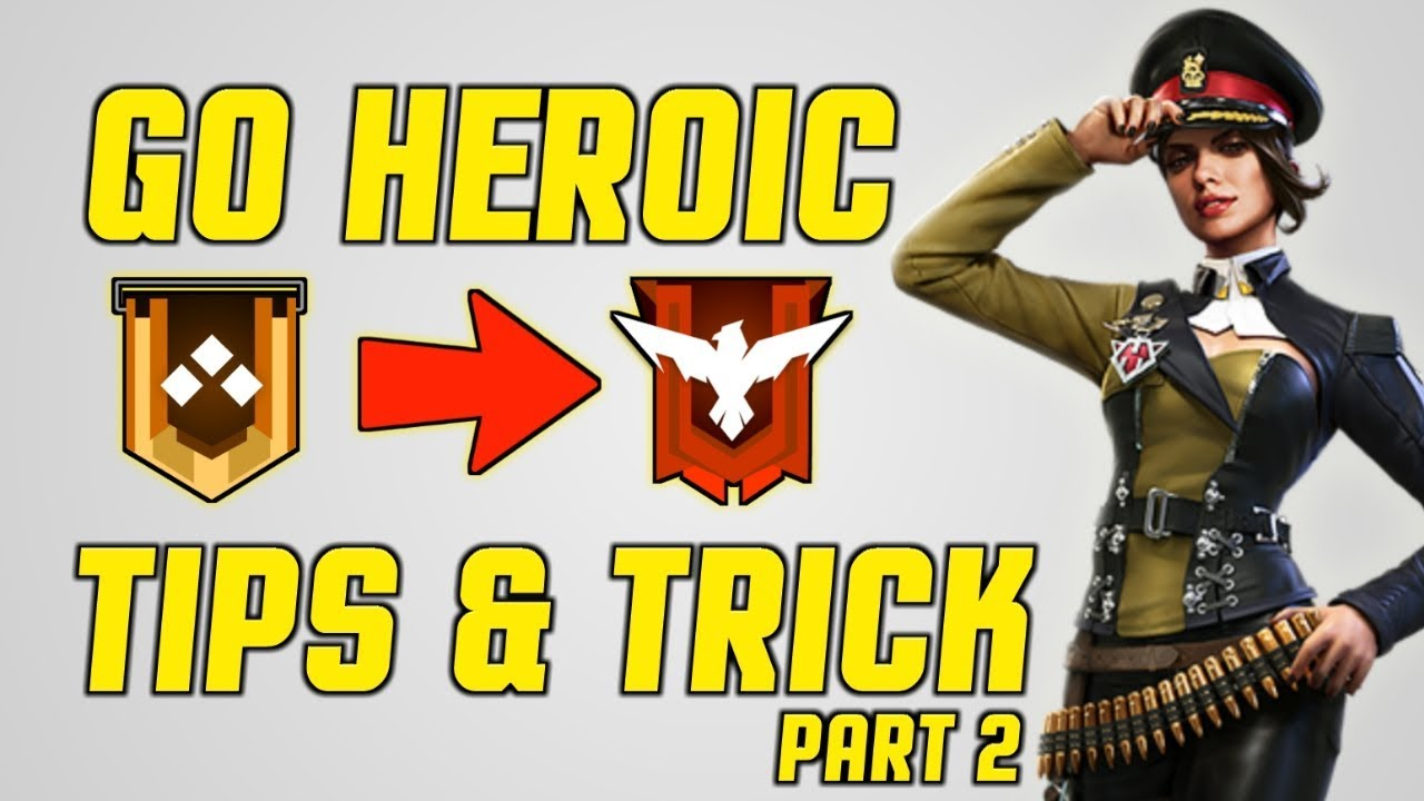 Free Fire Tips And Trick In Hindi 2019 Heroic In 1 Day Garena Free Fire