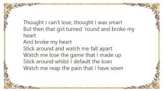 Hard-Fi - Watch Me Fall Apart Lyrics