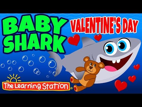 Baby Shark Valentine's Day ❤ Valentine's Songs for Kids ❤ Kids Songs by The Learning Station Mp3