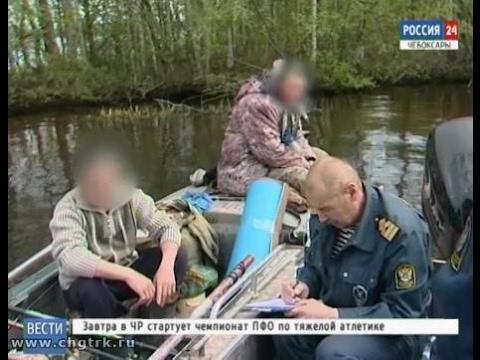 На водоёмах Чуваши сохраняется запрет на ловлю рыбы в нерестовый период