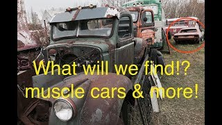Junkyard diamonds part 3. What will we find?!? Muscle Cars, Streamlined buses & more!