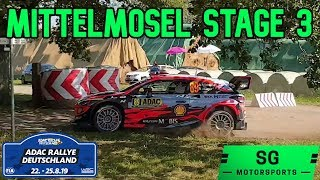 WRC Deutschland 2019 Rallye | Mittelmosel Stage 3 World Rally Championship Germany | SGMotorsports