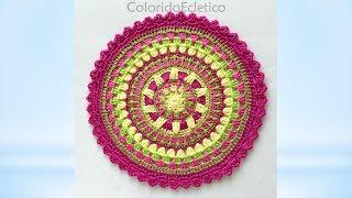 #PAP: Mandala ColoridoEclético