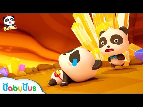 Help! Baby Panda's Trapped in Crystal Cave | Magical Chinese Characters | Kids Cartoon | BabyBus