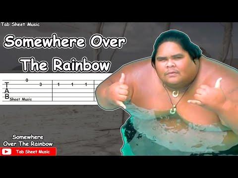 Somewhere Over The Rainbow - Israel Kamakawiwo'ole Guitar Tutorial